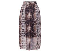 Rock 'Fally skirt' beige / schwarz