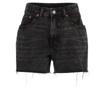'Donna' Denim Shorts schwarz