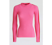 Pullover pink / rot