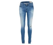 'Slandy' Jeans Skinny Fit 084Mu blue denim