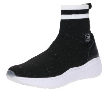 Sneaker 'Malou' schwarz / silber