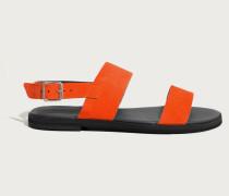 Sandale 'Cecelia' orangerot