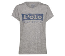 T-Shirt 'polo Prd' graumeliert