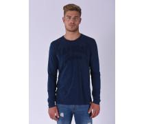 Shirt 'Bango' blaumeliert