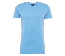 T-Shirt 'Gazsi' blau