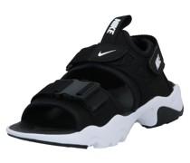 Sandale 'Canyon' weiß / schwarz