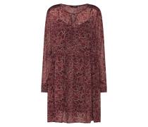 Kleid 'onlamelia' rot / schwarz
