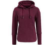 Sweatshirt ' Tessa ' rotviolett