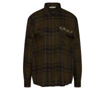 Bluse 'onlEMMA LS Shirt Wvn' grün