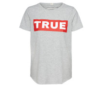 T Shirt graumeliert