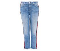 Straight-Cut-Jeans aus Candiani Denim