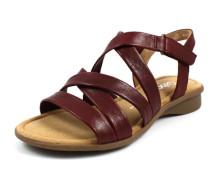 Sandalen burgunder