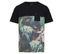 T-Shirt `LM Aloha` mischfarben / schwarz