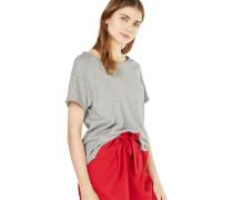 T-Shirt 'son' graumeliert
