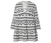 Kleid 'lucca' schwarz / offwhite