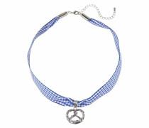 Halsband blau