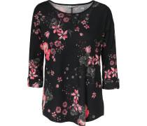 Shirt rosé / schwarz