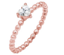 Verlobungsring 'Herz' rosegold