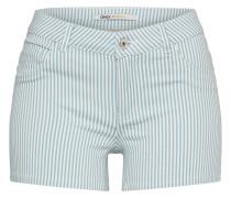 Shorts 'laney' azur / weiß