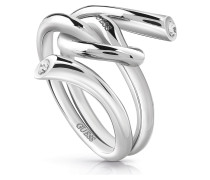 Ring 'Wrapped Knot' silber