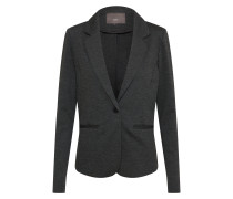 Sweat-Blazer 'Kate' dunkelgrau