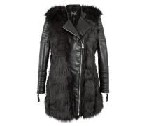 Mantel 'Portalegre' schwarz
