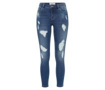 Skinny Jeans 'carmen' blue denim