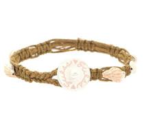 Armband sand / braun / pitaya