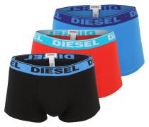 Pants im 3er-Pack blau / rot / schwarz