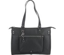 Loire Shopper Tasche 37 cm schwarz