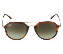 Sonnenbrille '0Rb4253' braun / gold