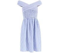 Kleid 'minja' blau / weiß