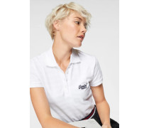 Poloshirt 'Cotton Polo Top' weiß
