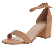 Sandale 'fraziska' hellbraun