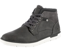 Sneakers High dunkelgrau / weiß