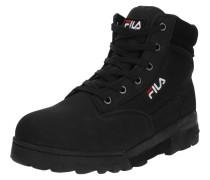 Boots 'Grunge mid' schwarz