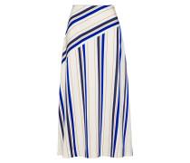 Skirt hellbeige / blau / weiß