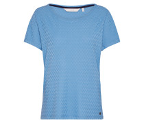 T-Shirt 'Addisyn' blau