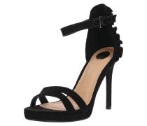 High Heel-Sandalette schwarz