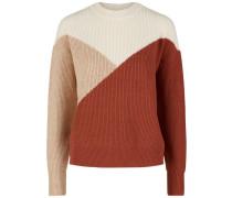 Pullover beige / hellbraun / hummer