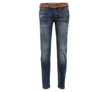 Jeans mit Gürtel 'Close'