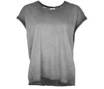 T-Shirt Wide Paillette schwarz