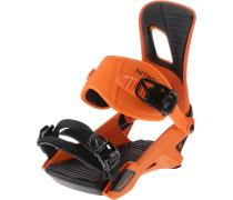 Snowboardbindung 'Rambler' orange