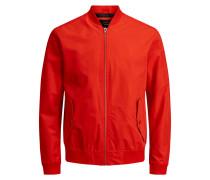 Klassische Jacke orangerot