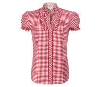 Bluse 'Enza' rot / weiß