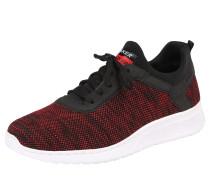 Sneaker rot / schwarz / weiß