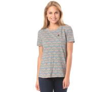 T-Shirt 'SelvaM.' graumeliert