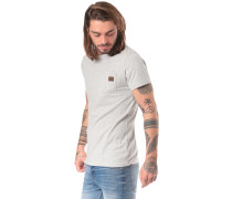 T-Shirt 'Matopo' hellgrau