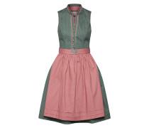 Dirndl 'Dalida' grün / rosa