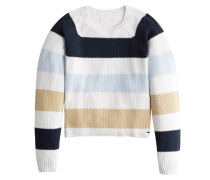 Pullover 'bts19-Seed' blau / offwhite
